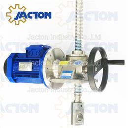 Stainless steel hand operated translating screw jack 5ton - Jacton