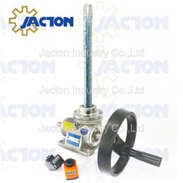 Stainless steel manual screw jack 1ton - Jacton Industry