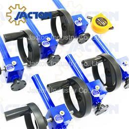 Miniature manual worm gear screw jack top plate - Jacton Industry