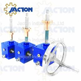 Small Manual Operate Screw Jack with Traveling Nut - Jacton Industry