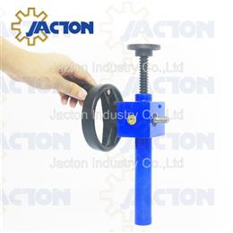 Micro manual acme screw jack with protective pipe - Jacton Industry
