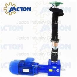 Motorized screw jacks with lifting nut - Jacton Industry
