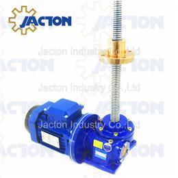 Acme screws nut screw jack motor drive - Jacton Industry