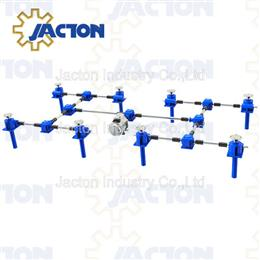8-Jacks Motor Worm Gear Drive System
