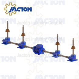 Screw jack with traveling nut design lifting platform - Jacton