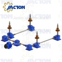Rotating spindle screw jack with brass lead nut for lift table-Jacton